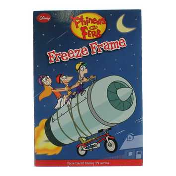 Book: Phieas And Ferb Freeze Frame for Sale on Swap.com