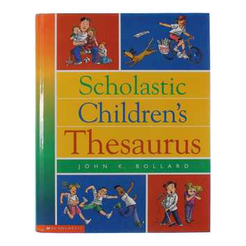 Book: Scholastic Children's Thesaurus for Sale on Swap.com