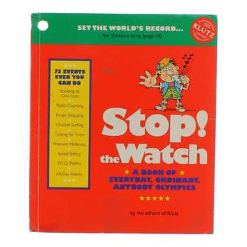 Book: Stop the Watch for Sale on Swap.com