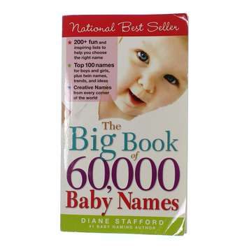 Book: The Big Book of 60,000 Baby Names for Sale on Swap.com