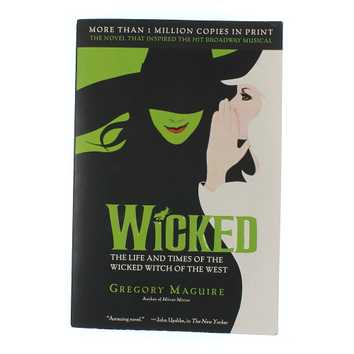 Book: Wicked for Sale on Swap.com
