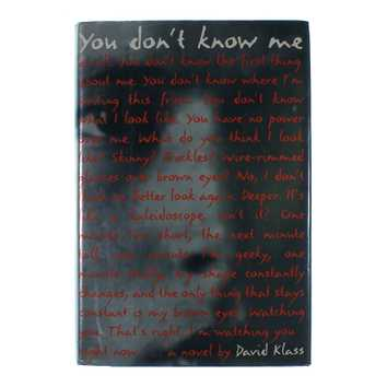 Book: You Don't Know Me for Sale on Swap.com