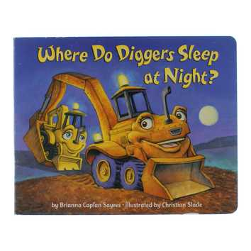 Book:Where Do Diggers Sleep At Night? for Sale on Swap.com