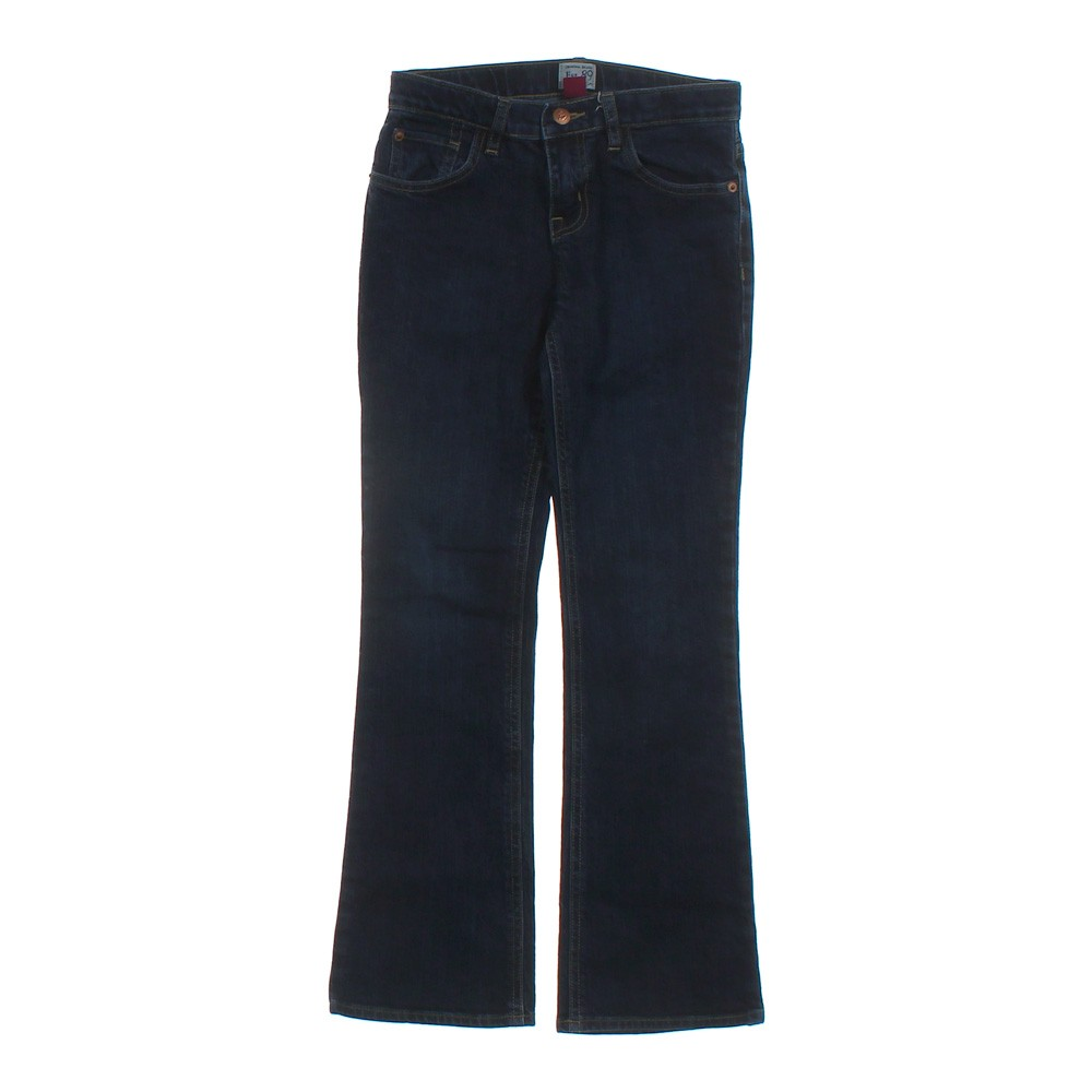 Blue/Navy The Childrenu0026#39;s Place Boot Cut Stretch Jeans in size 12 at up to 95% Off - Swap.com