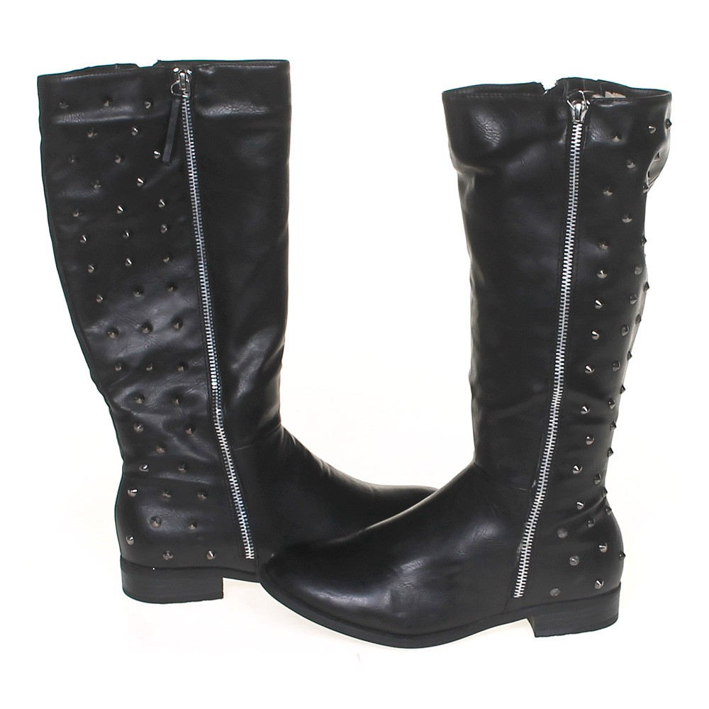 American Eagle Credit Card Login >> Black Streetwear Society Boots in size 6 Women's at up to 95% Off - Swap.com