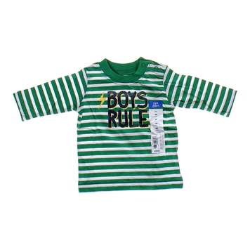 """Boys Rule"" Striped Shirt for Sale on Swap.com"