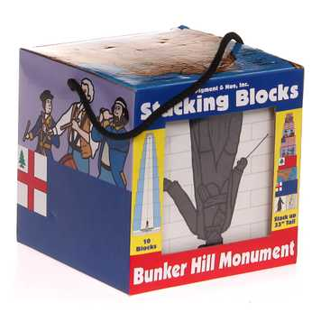 Bunker Hill Monument Stacking Blocks for Sale on Swap.com