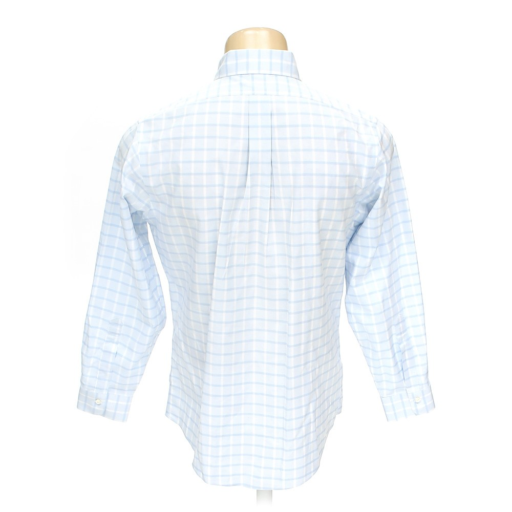 Light blue brooks brothers button down long sleeve shirt for Brooks brothers tall shirts