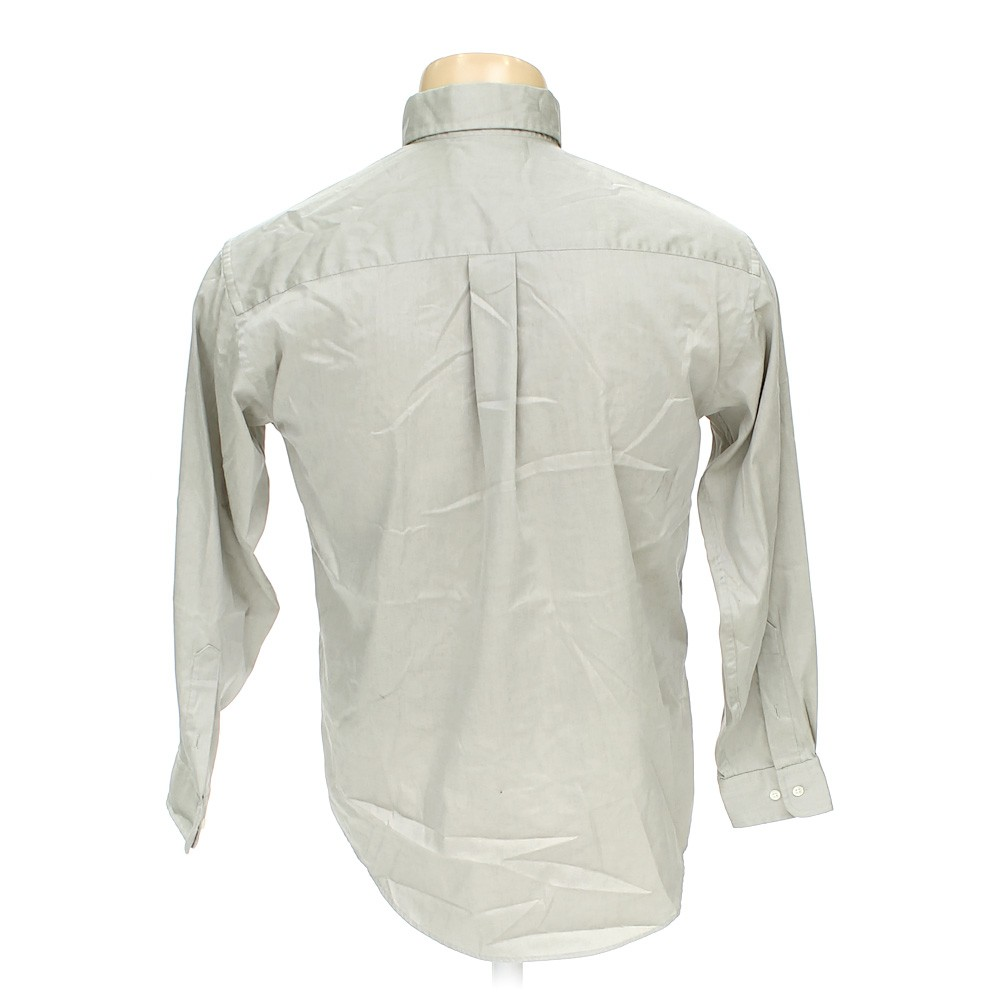 Green croft barrow button down long sleeve shirt in size for Croft and barrow womens polo shirts