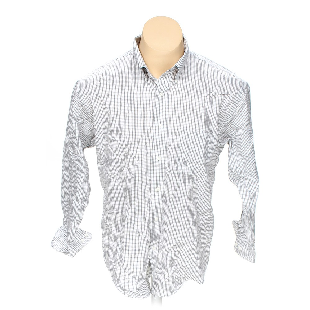 Croft barrow button down long sleeve shirt in size 50 for Croft and barrow womens polo shirts