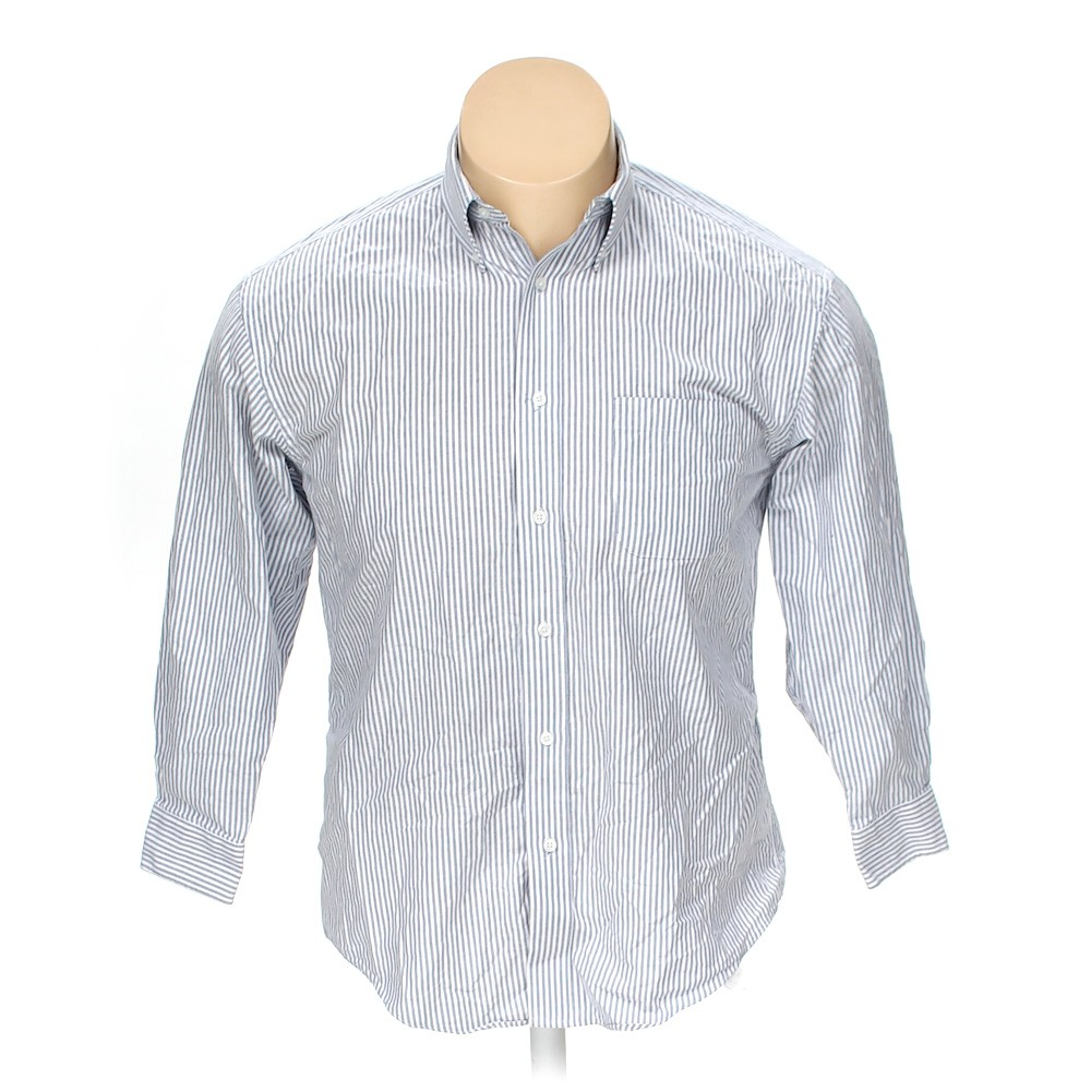 Croft barrow button down long sleeve shirt in size xl at for Croft and barrow womens polo shirts