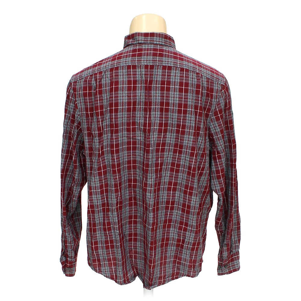 George Button Down Long Sleeve Shirt In Size Xl At Up To