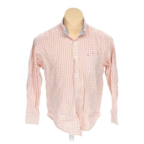 Pink izod button down long sleeve shirt in size xl at up for 17 33 shirt size