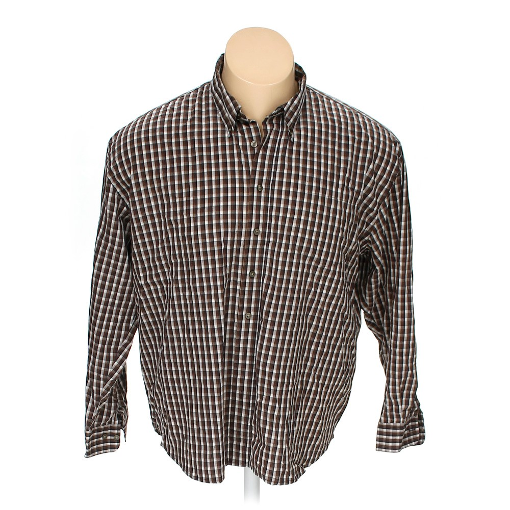 Northcrest Button Down Long Sleeve Shirt In Size 50 Chest