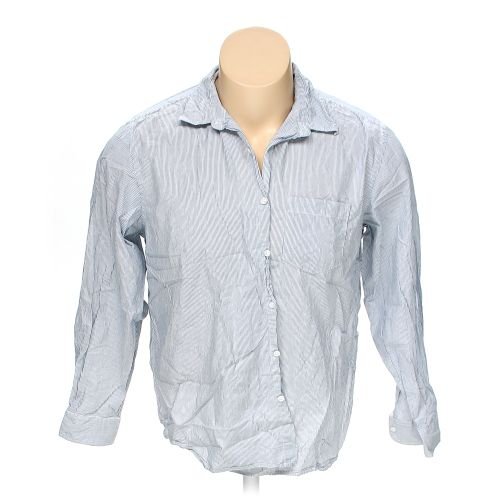 Old navy button down long sleeve shirt in size 2xl at up for 18 36 37 shirt size