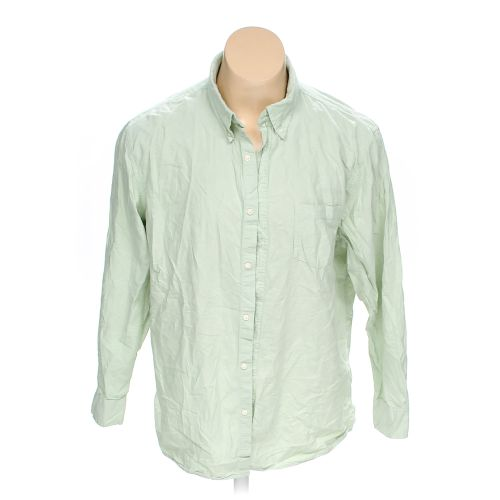Green Sonoma Button Down Long Sleeve Shirt In Size 2xl At