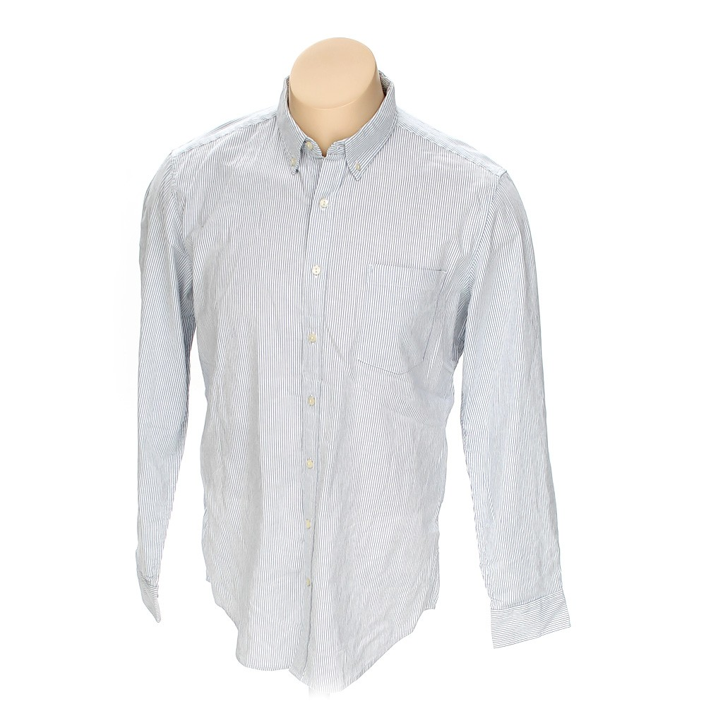 The Foundry Button Down Long Sleeve Shirt In Size L At Up