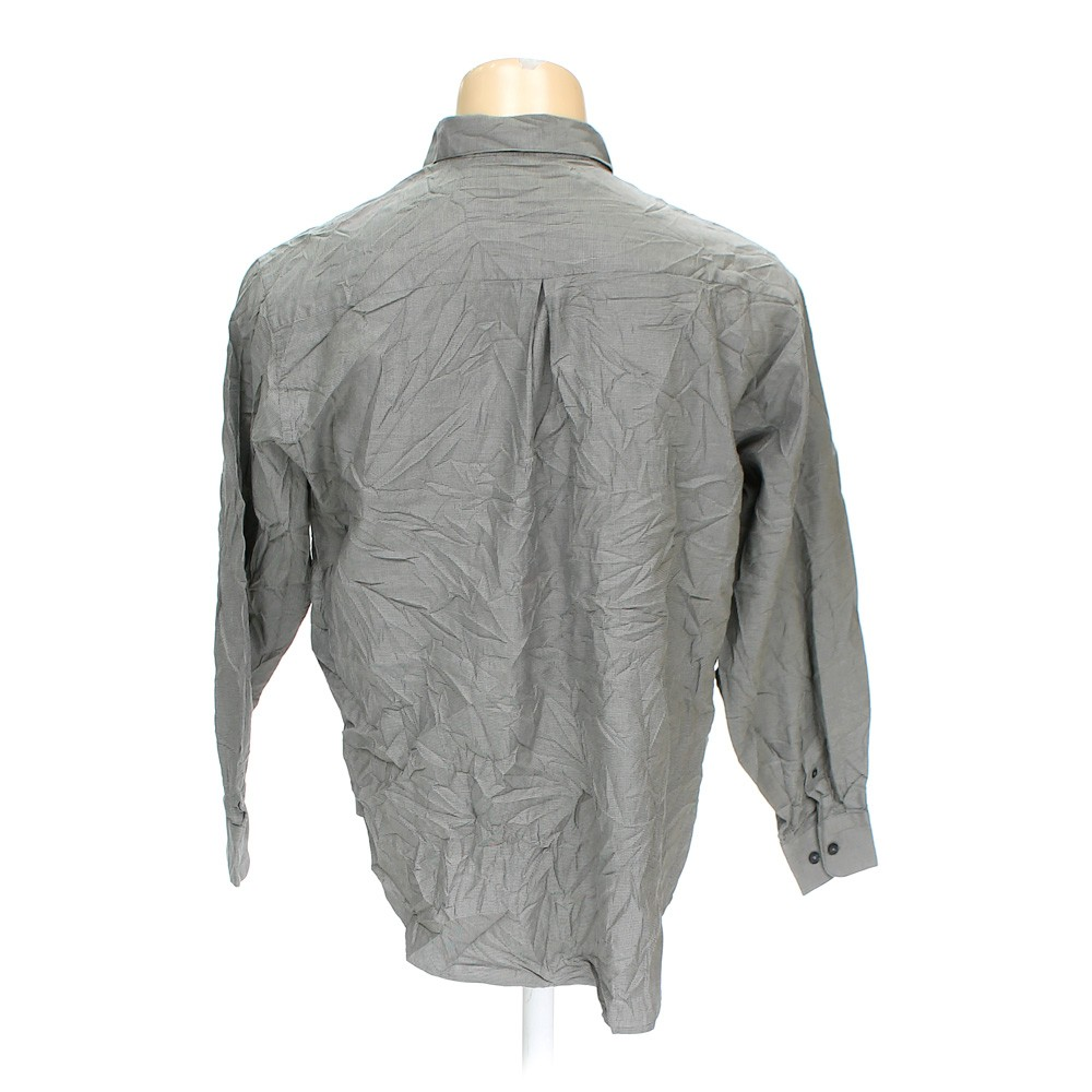 Grey Tricots St Raphael Button Down Long Sleeve Shirt In