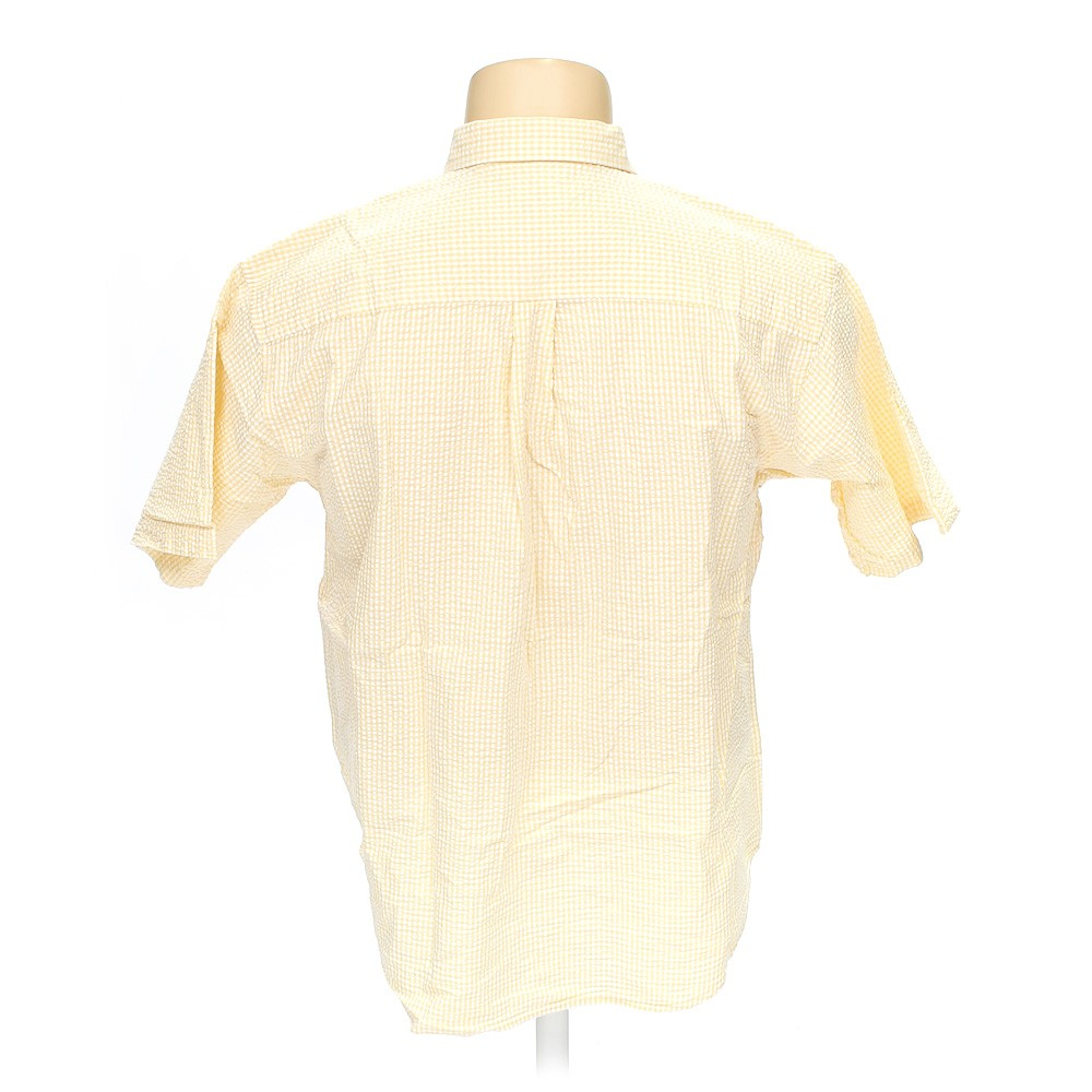 Izod Button Down Short Sleeve Shirt In Size Xl At Up To 95