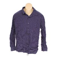 Purple Apt 9 Button Up Long Sleeve Shirt In Size 2xl At Up