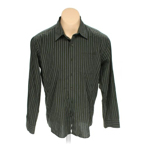 Green arrow button up long sleeve shirt in size xl at up for 17 33 shirt size