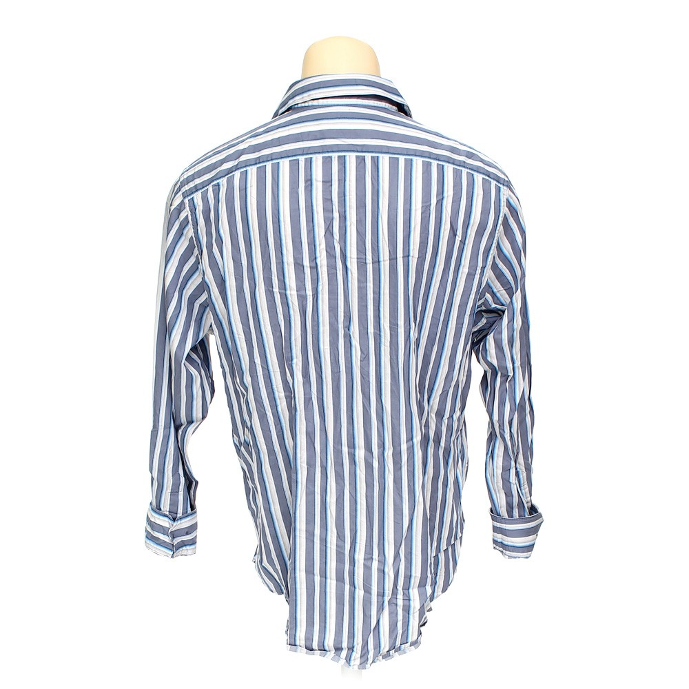 Attention button up long sleeve shirt in size xl at up to for 18 36 37 shirt size