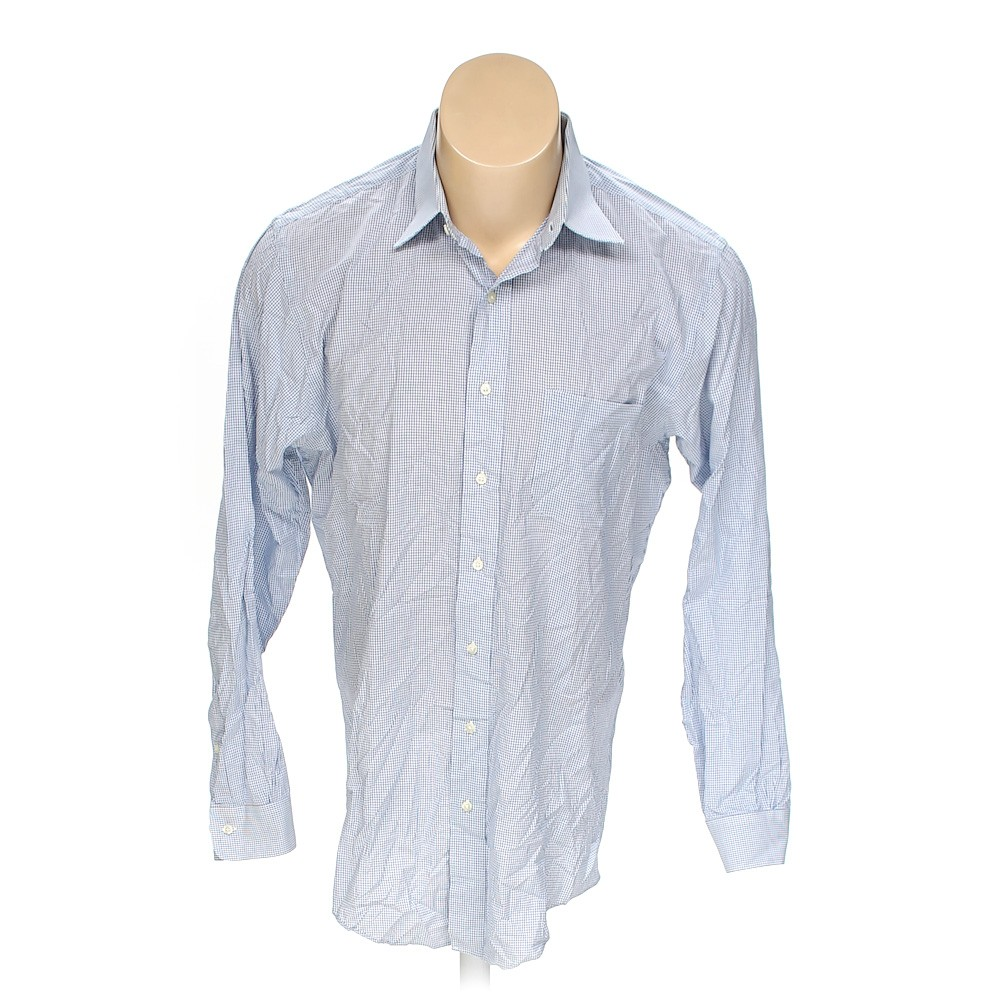 Light blue brooks brothers button up long sleeve shirt in for Brooks brothers tall shirts