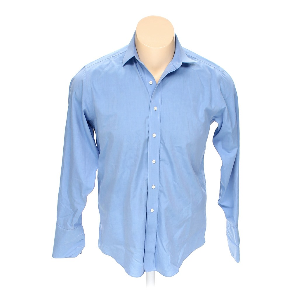 Brooks brothers cotton button up long sleeve shirt size for Brooks brothers tall shirts