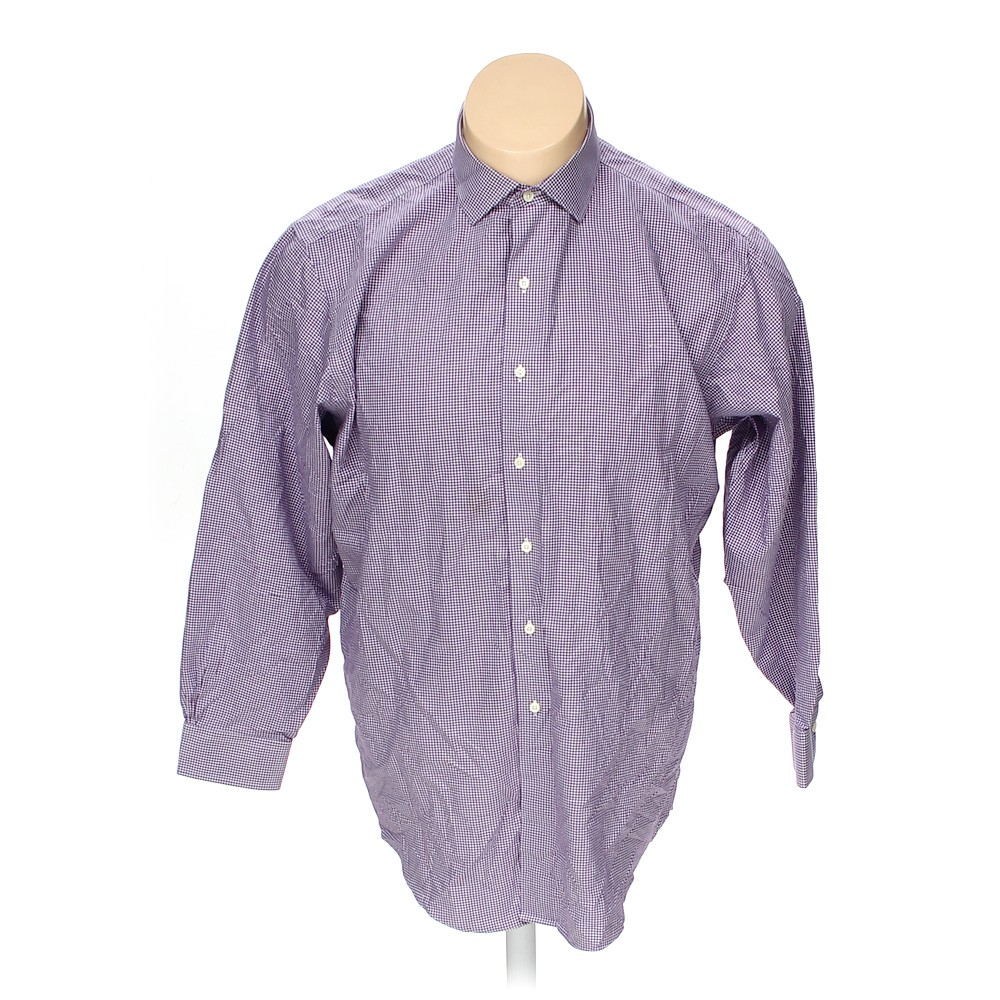 brooks brothers button up long sleeve shirt in size 52