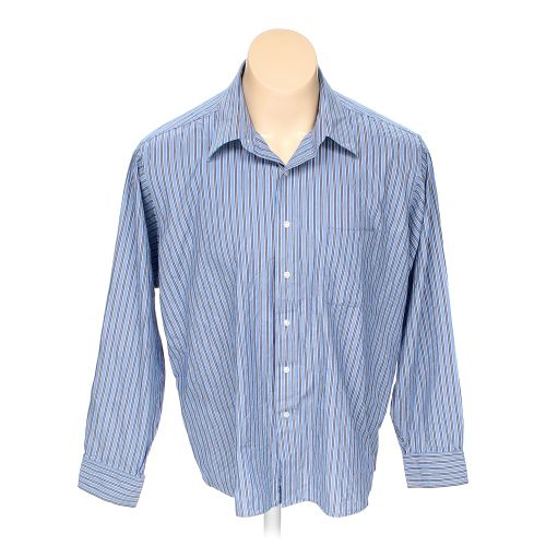 Light blue chaps button up long sleeve shirt in size 2xl for 18 36 37 shirt size