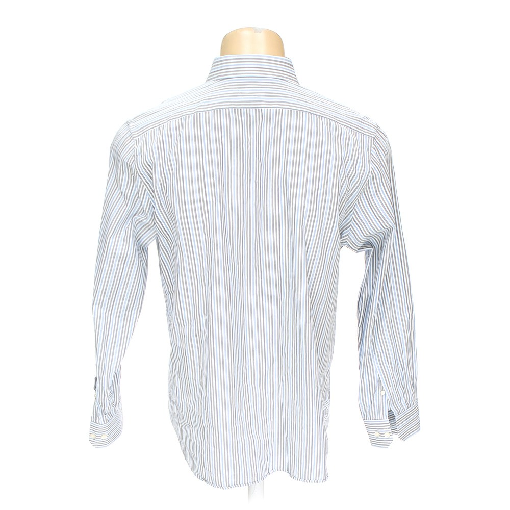 Express Button Up Long Sleeve Shirt In Size Xl At Up To 95