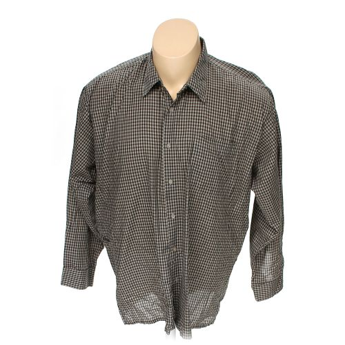 Haband Button Up Long Sleeve Shirt In Size 54 Chest At Up