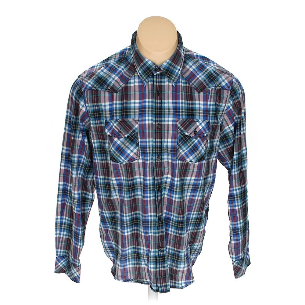 Multi Colored J Campbell Button Up Long Sleeve Shirt In