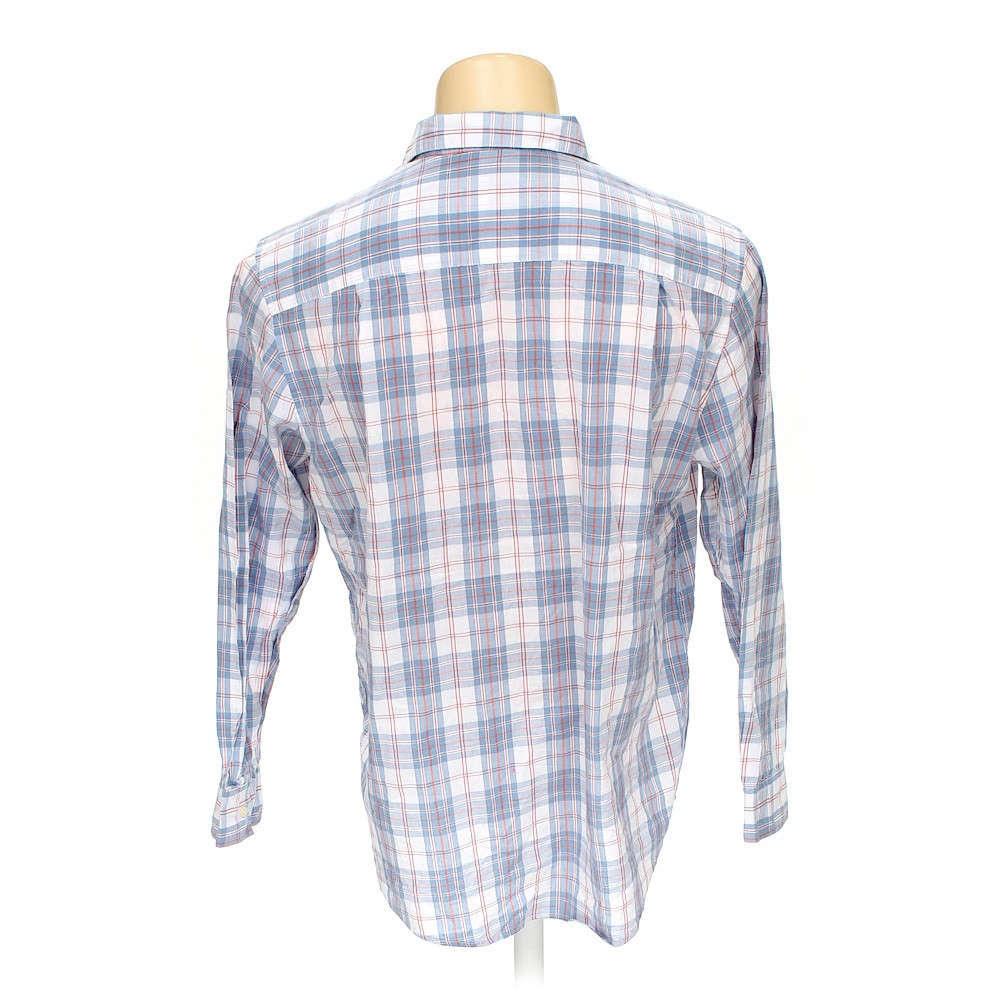 John ashford button up long sleeve shirt in size xl at up for 17 33 shirt size