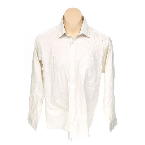 Beige michael kors button up long sleeve shirt in size 54 for 18 36 37 shirt size