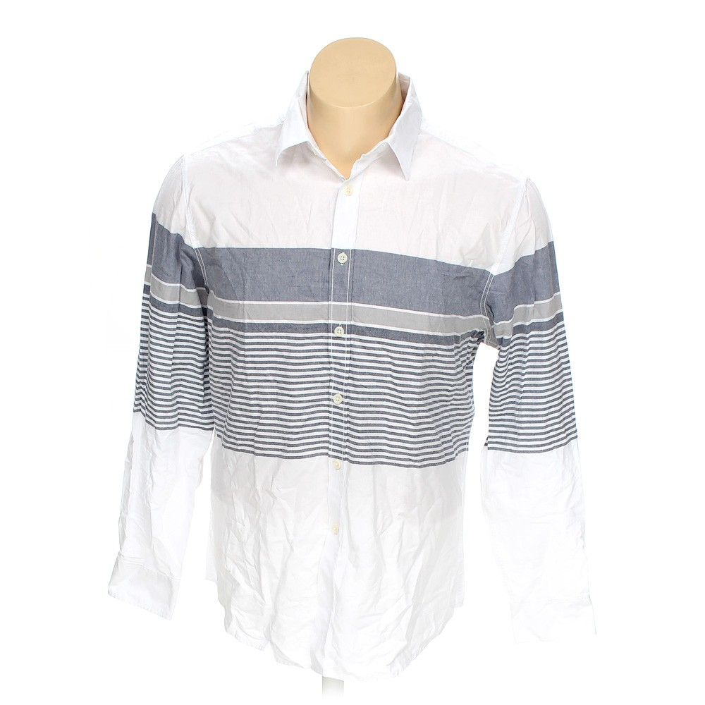 Mossimo supply co button up long sleeve shirt in size xl for 18 36 37 shirt size