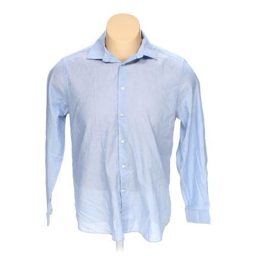Light blue next button up long sleeve shirt in size 2xl at for 18 36 37 shirt size