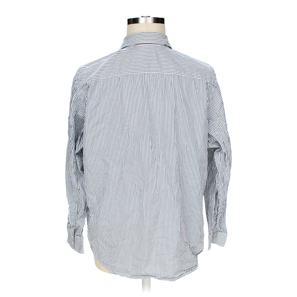 Grey old navy button up long sleeve shirt in size 2xl at for 18 36 37 shirt size