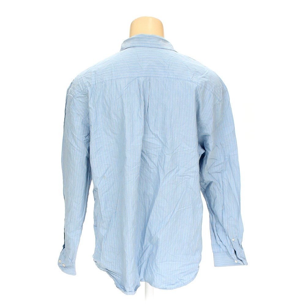 Light blue old navy button up long sleeve shirt in size for 18 36 37 shirt size