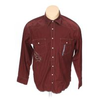 Maroon old navy button up long sleeve shirt in size xl at for 18 36 37 shirt size