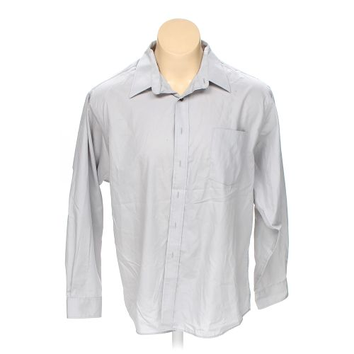 White puritan button up long sleeve shirt in size 50 for 18 36 37 shirt size