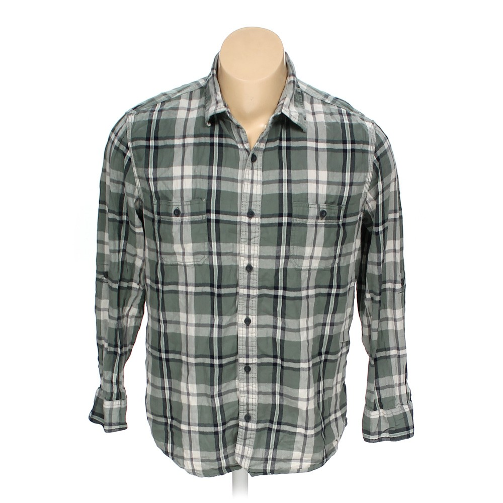 Sonoma button up long sleeve shirt in size xl at up to 95 for 18 36 37 shirt size
