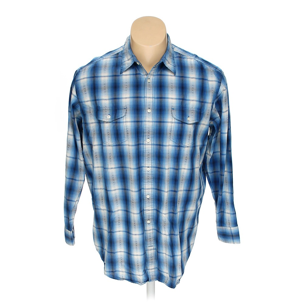 The Foundry Button Up Long Sleeve Shirt In Size 2xl At Up