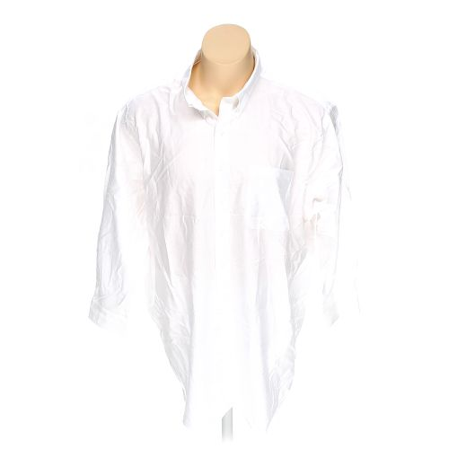 White van heusen button up long sleeve shirt in size 2xl for 18 36 37 shirt size