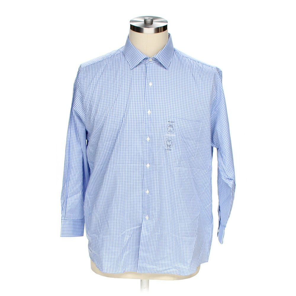 Van heusen button up long sleeve shirt in size 52 chest for 17 33 shirt size