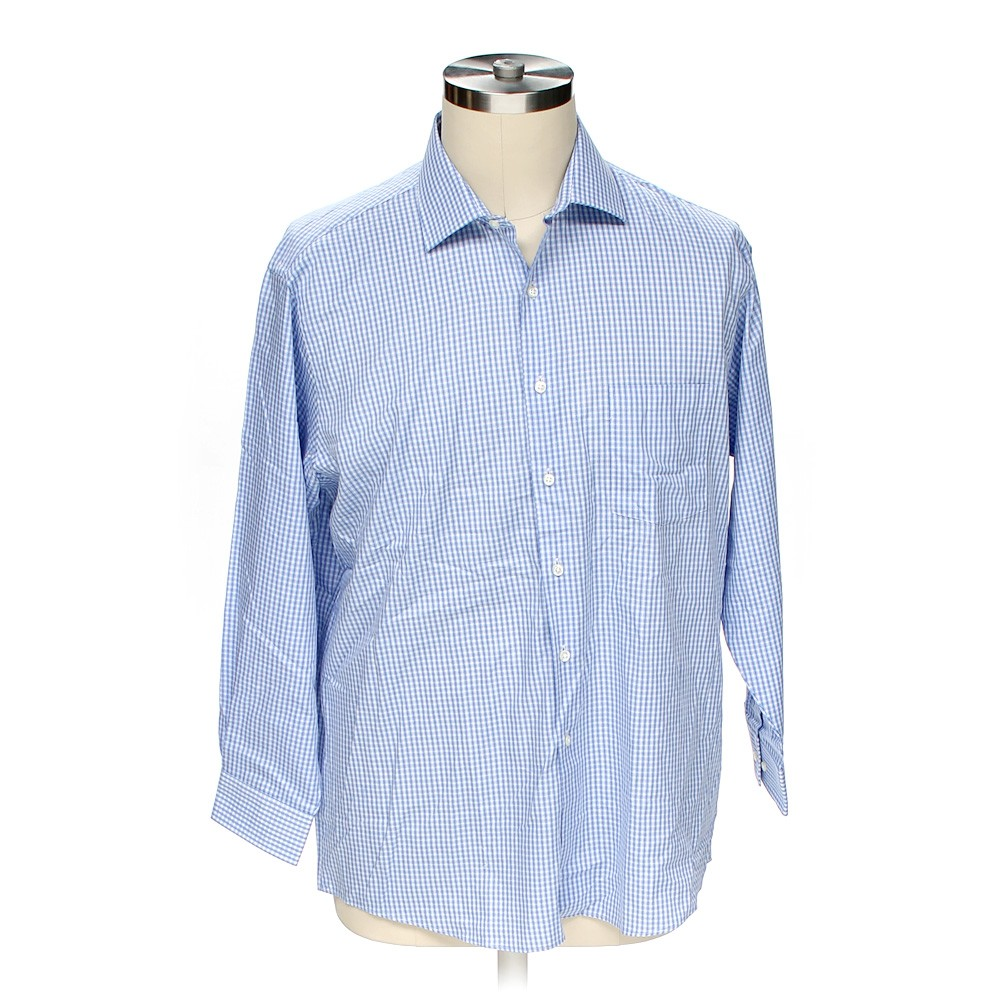 Van heusen button up long sleeve shirt in size 50 chest for 17 33 shirt size