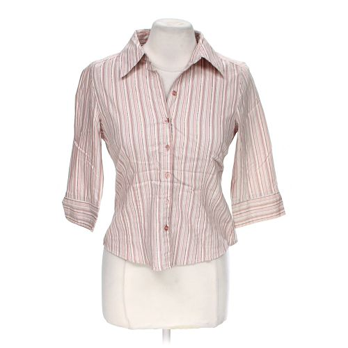 Apt 9 button up shirt in size m at up to 95 off for Polyester button up shirt