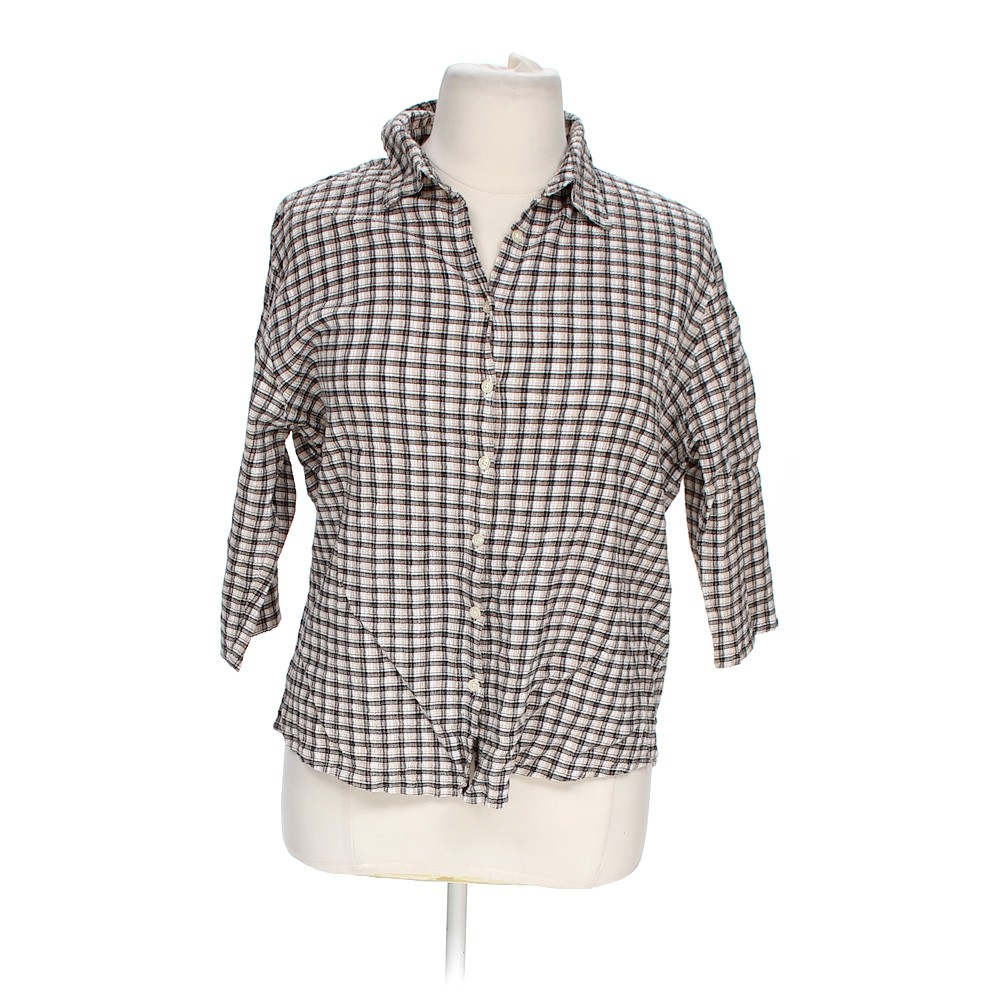 Grey bailey 39 s point button up shirt in size 3x at up to 95 for 3x shirts on sale