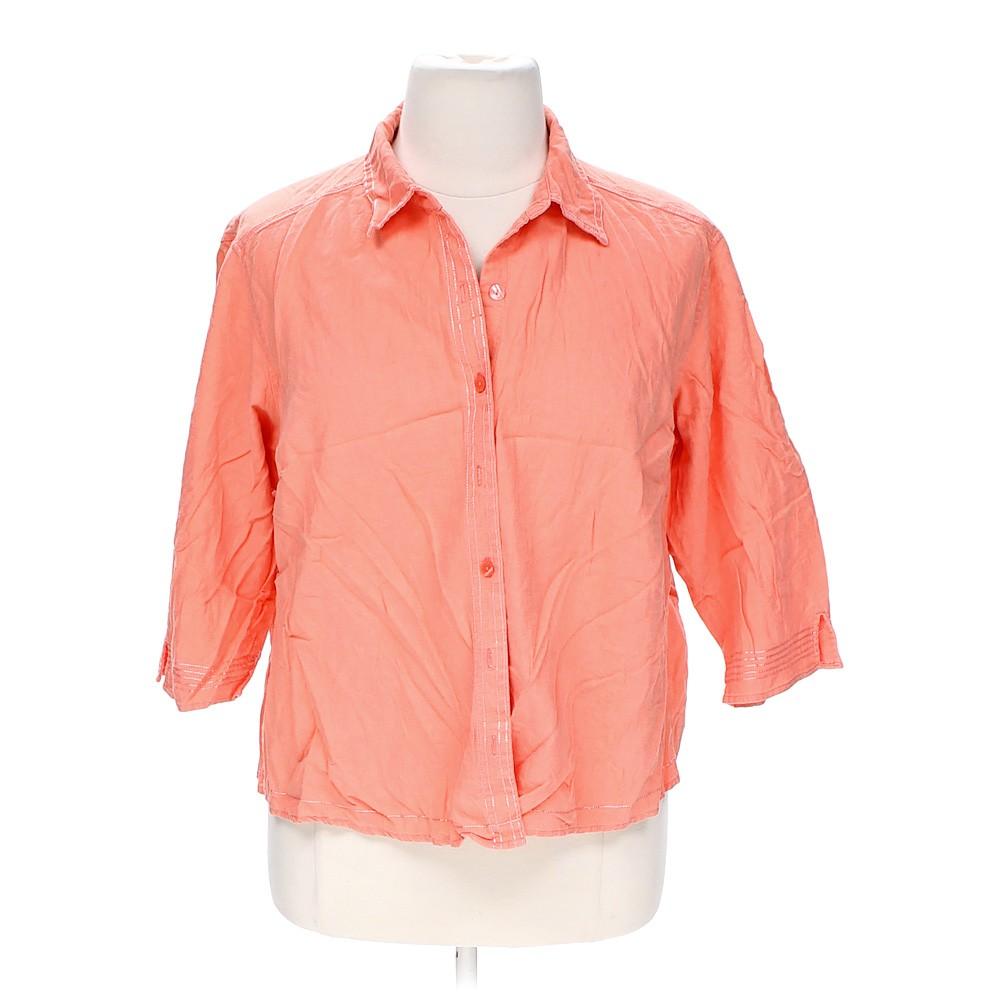 Erika button up shirt in size 3x at up to 95 off for 3x shirts on sale