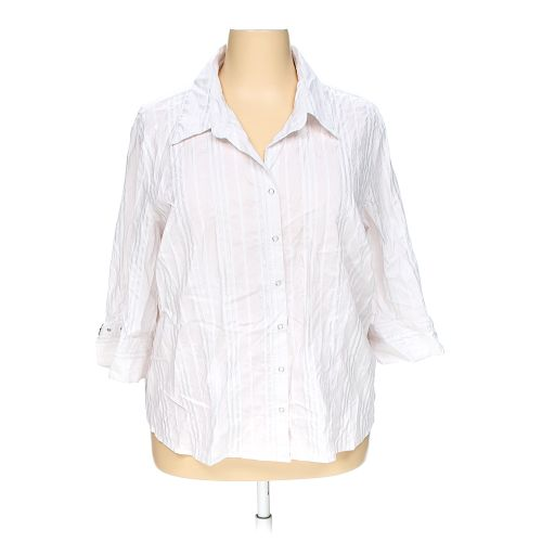 White fashion bug button up shirt in size 26 at up to 95 for I like insects shirt